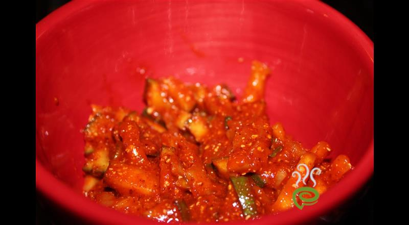 Spicy And Simple Mango Pickle