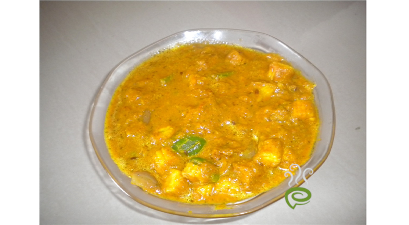 Babycorn And Capsicum Masala