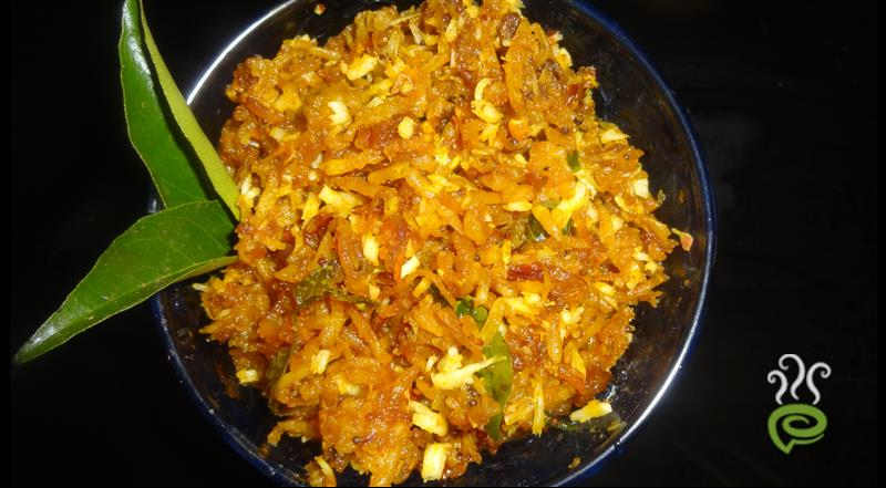 Grated Raw Banana Fry