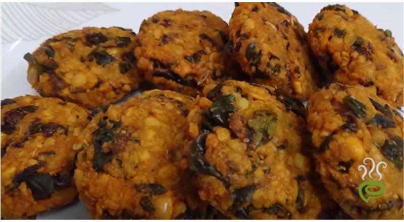 Keerai Wada Video Recipe