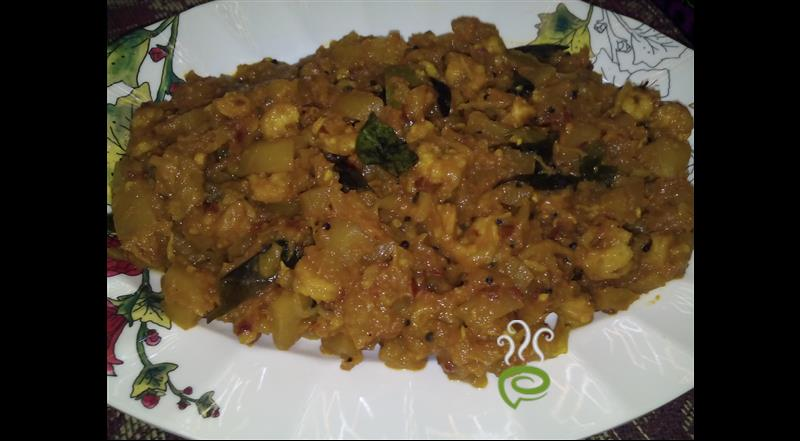 Papaya Olathu With Prawns
