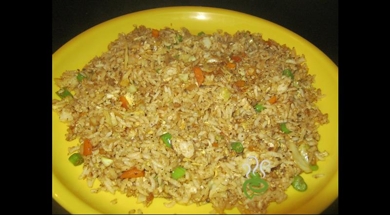 Street Side Egg Fried Rice