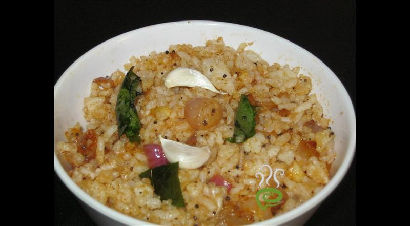 Onion Garlic Rice | Pachakam