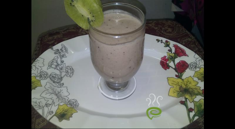 Kiwi Cream Smoothie | Pachakam