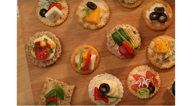 Canapes Video Recipe - Indiainteracts