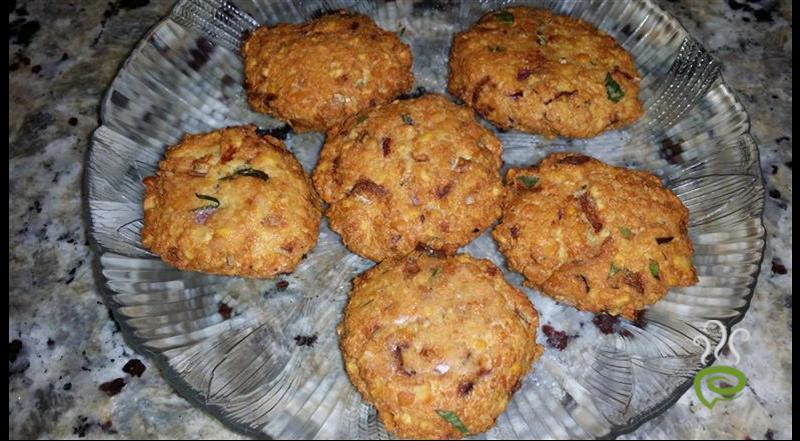 Fenugreek Leaves With Dal Vadai