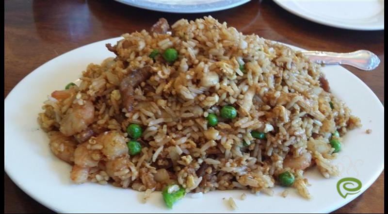 Chinese Simple Vegetable Fried Rice