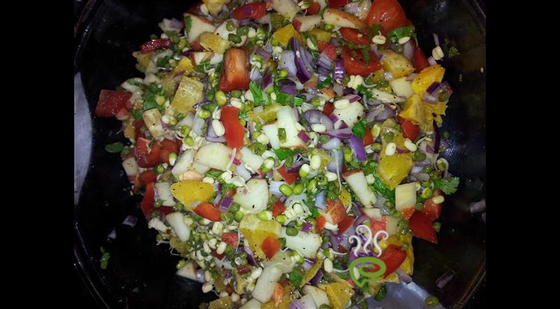 Fruits And Veggie Salad