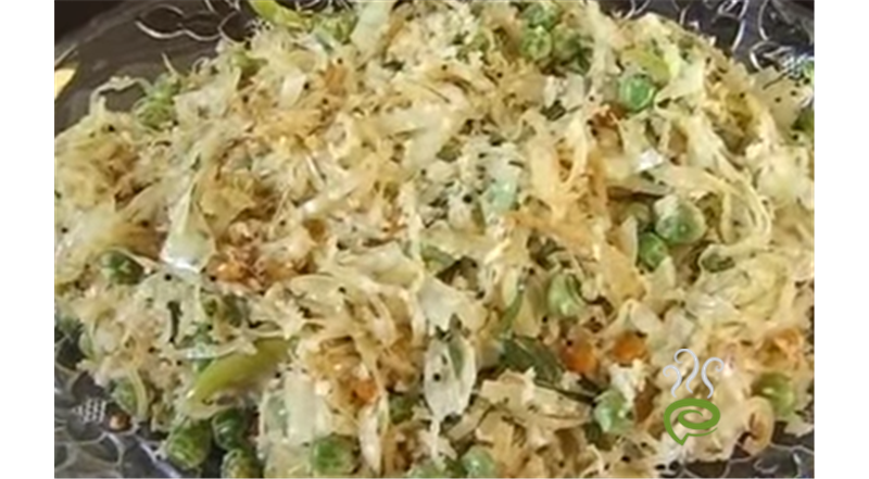 Cabbage Poriyal Video Recipe | Pachakam