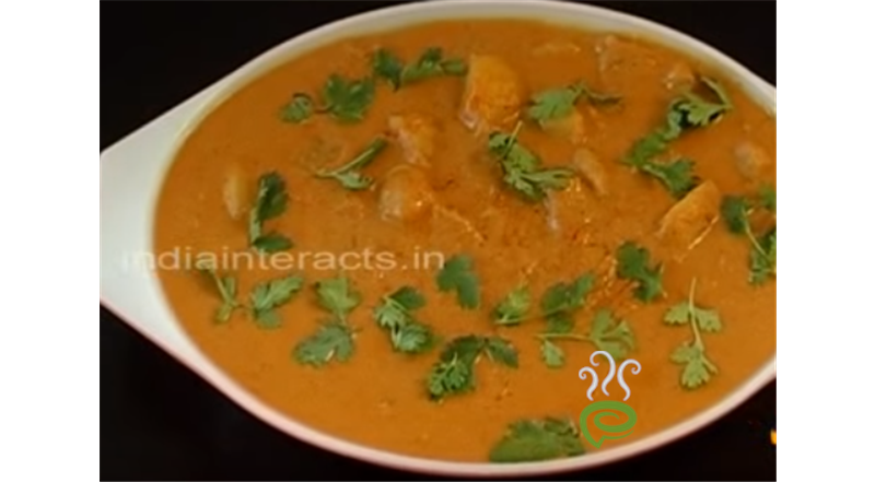 Potatoes In Cashew Korma Video Recipe | Pachakam