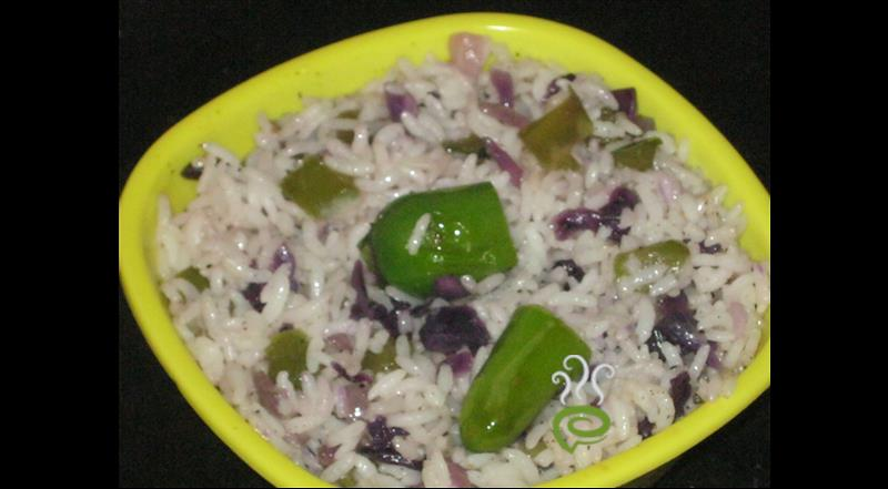 Violet Cabbage Rice