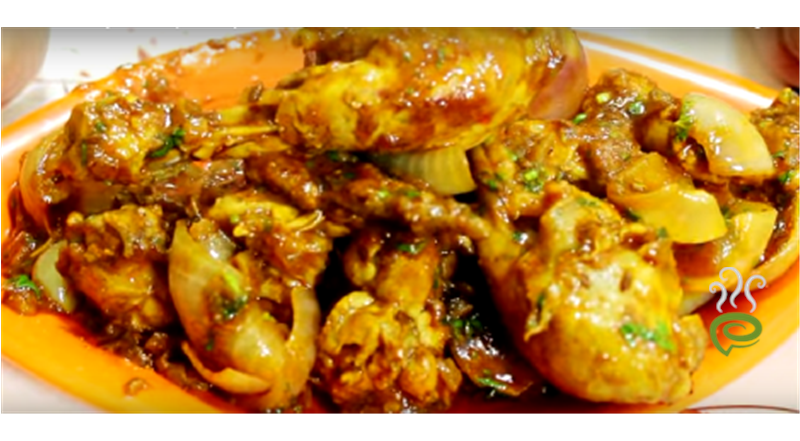 Chicken Do Pyaaza Video Recipe-Ani