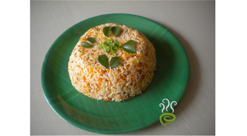Carrot Rice - Healthy