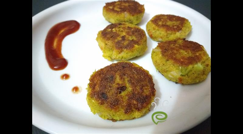 Broccoli Tikki / Cutlet