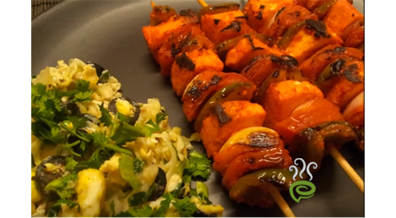 Paneer  Kebab Video Recipe | Pachakam
