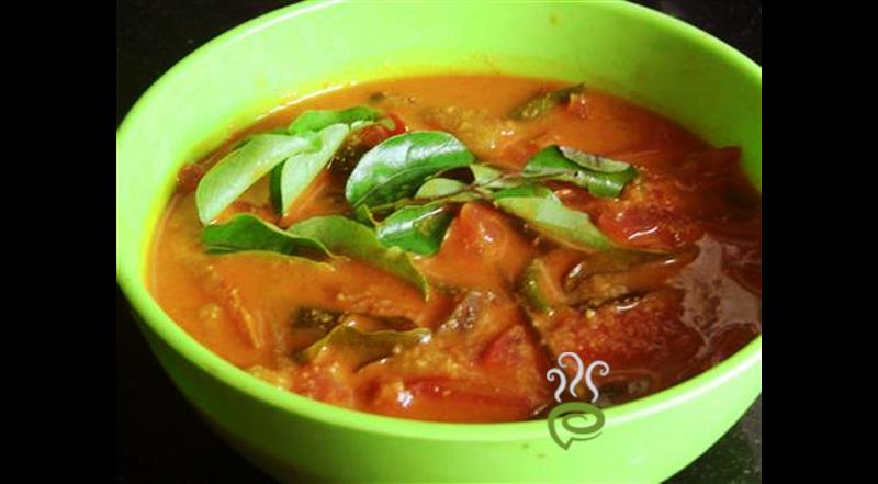 Easy Tomato Curry (Thakkali Curry) | Pachakam
