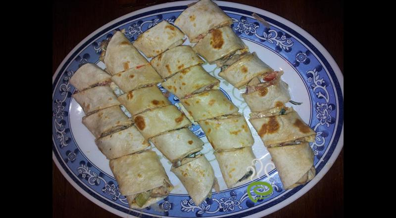 Mince Cottage Cheese Wraps