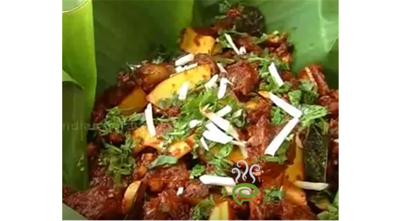 Mutton Coconut Fry Video Recipe | Pachakam