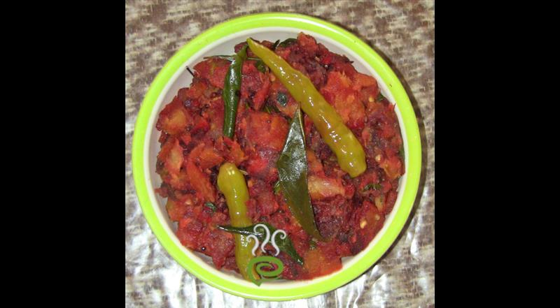 Tapioca And Beetroot Thoran