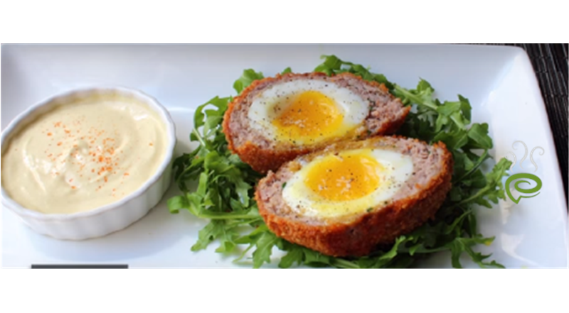 Crispy Sausage-Wrapped Soft Cooked Egg