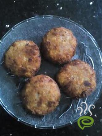 Egg Stuffed Cutlet
