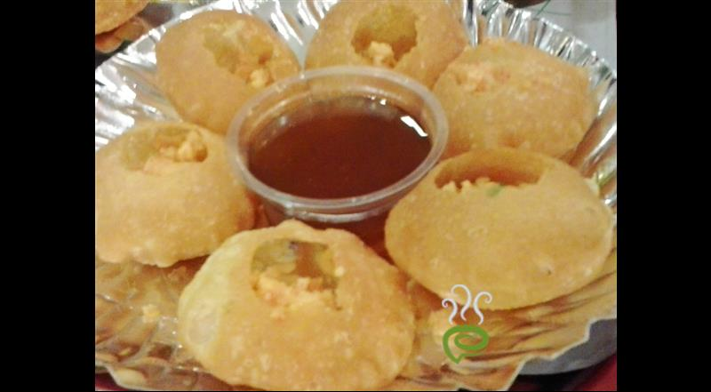 Pani Puri - North Indian Snack