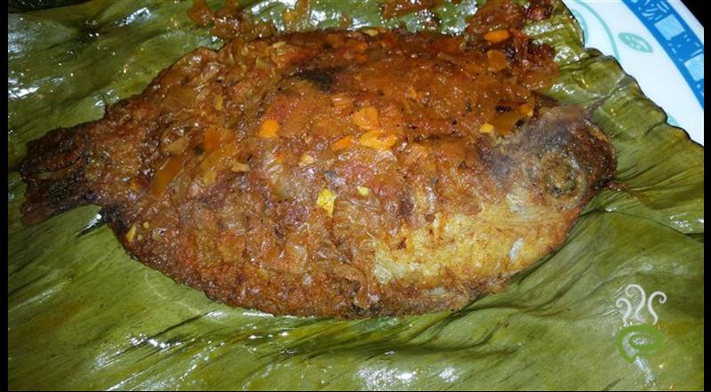 Fish Fry In Plantain Leaf(Meen)