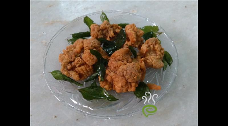 Curry Leaves Fried Chicken
