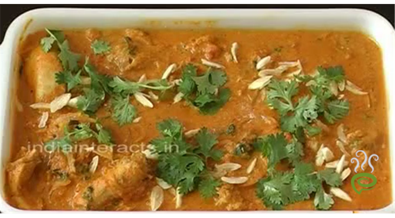 Chicken Creamy Cashew Nut Gravy Video Recipe