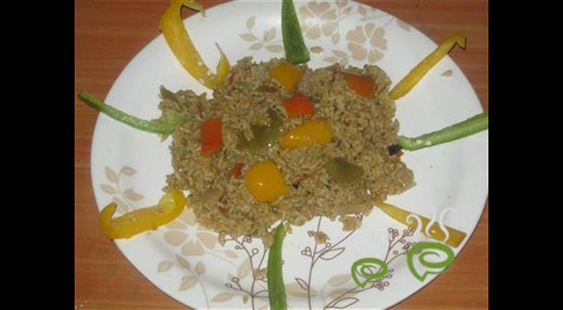 Colourful Capsicum Biriyani