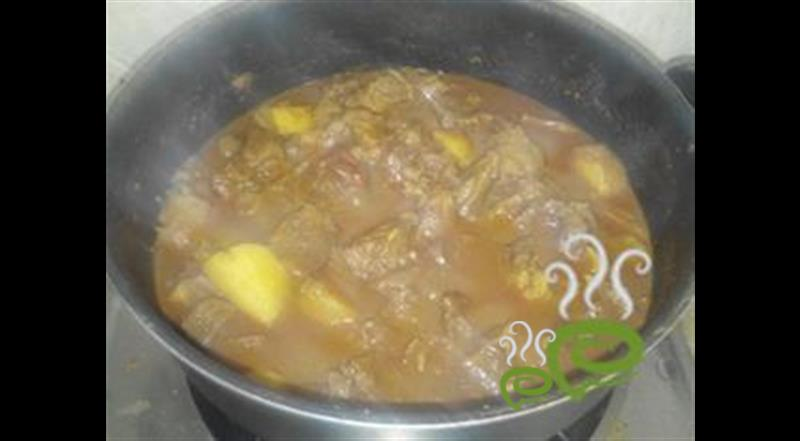 Beef Curry With Potato