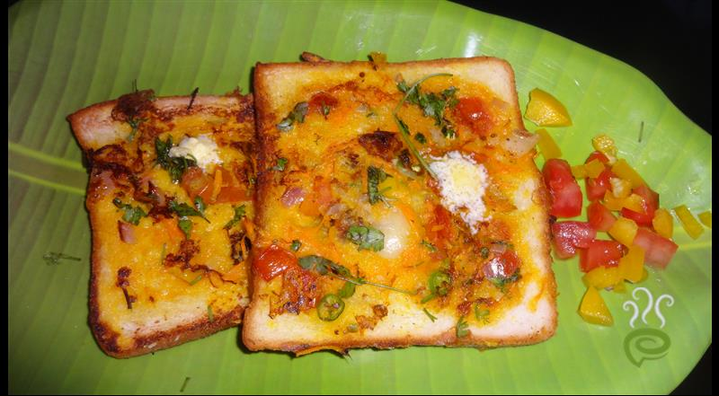 Bread Omelette Without Egg