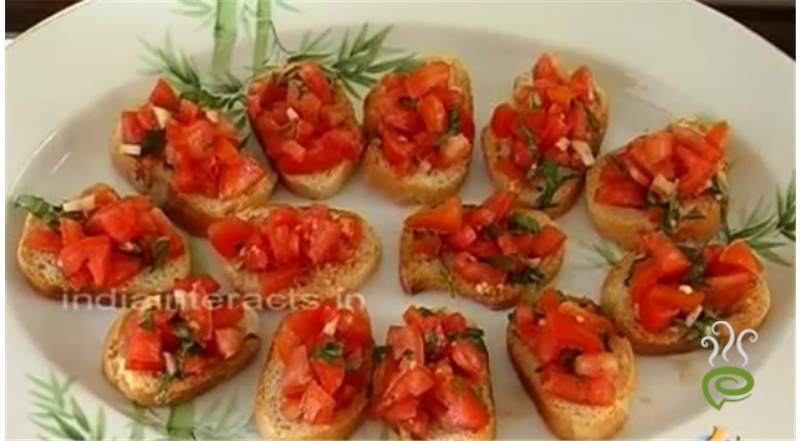 Toast With Tomato & Basil Video Recipe