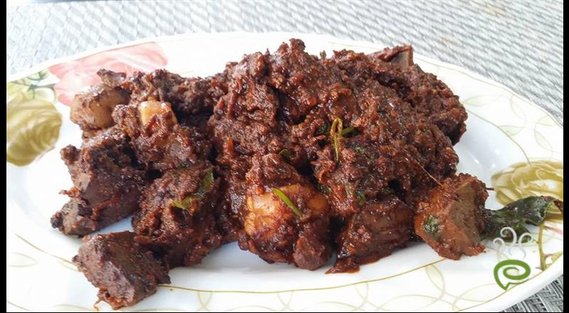 Mutton Liver Fry - Kerala Style