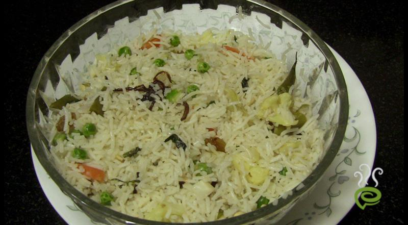 North Indian Easy Vegetable Pulao