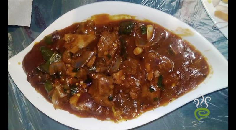 Chilli Beef Indo Chinese
