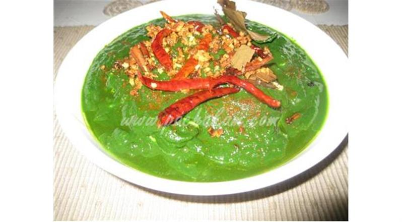 Palak Paneer (Spinach-Cottage Cheese) (Step By Step Photos) | Pachakam