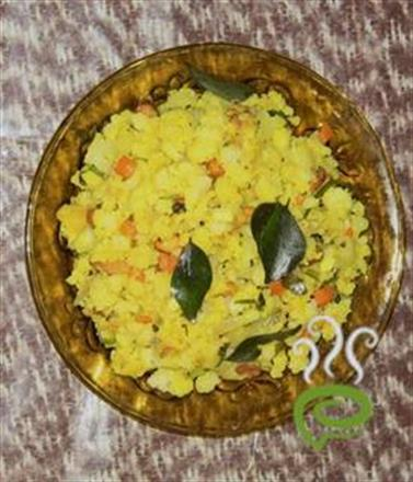 Poha - Quick And Tasty