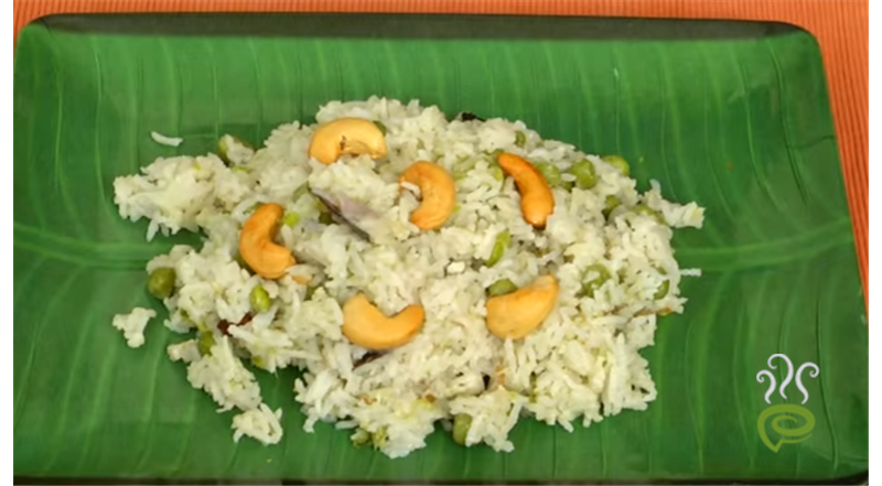 Pookose Pattani Sadam Video Recipe - Mallika Badrinath | Pachakam