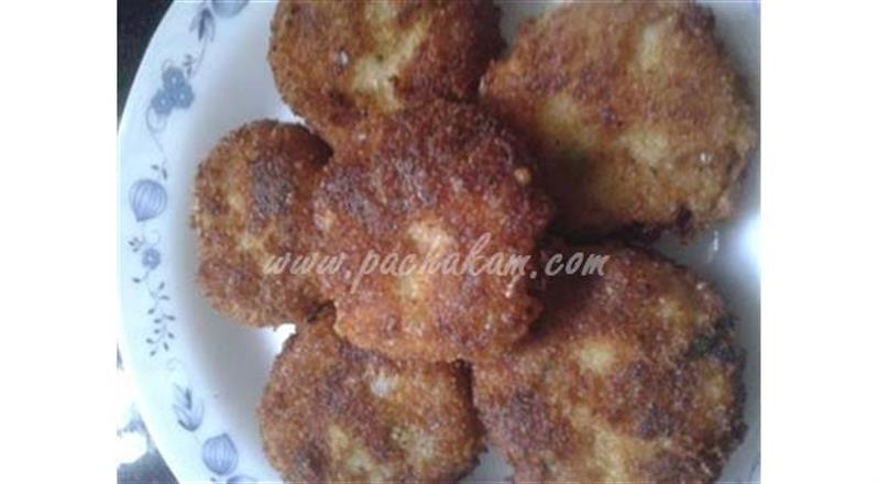 Prawn Cutlette (Step By Step Photos)