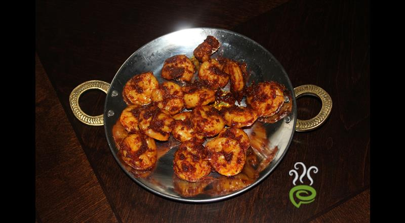 Kerala Prawns Fry With Small Onions | Pachakam