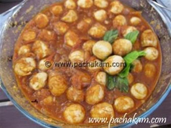 Quails Egg Curry | Pachakam