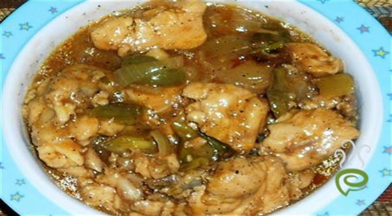 Quick & Yummy Chilly Chicken With Gravy