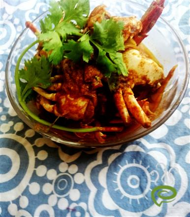 Roasted Masala Crab Curry