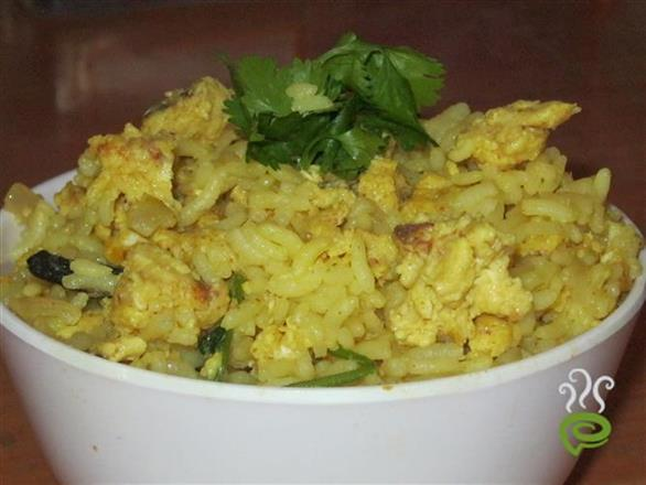 Scrambled Egg Pulav