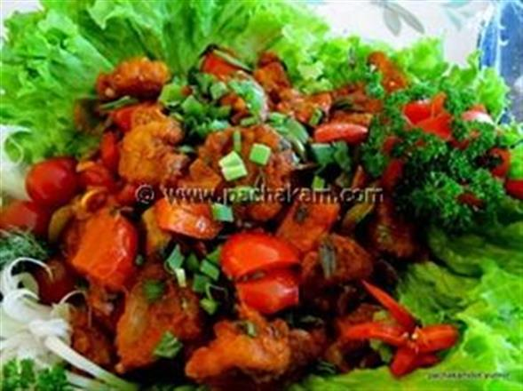 Shrimp With Capsicum | Pachakam