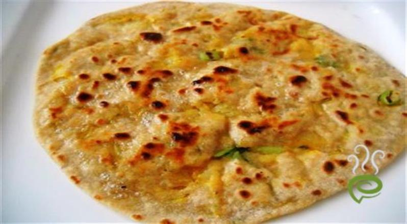 Simple Breakfast With Aloo Paratha