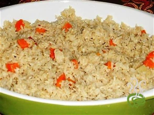 Simple Vegetarian Coconut Rice