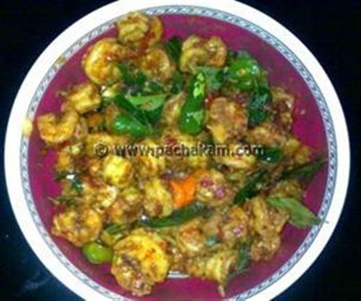 Spicy Chilly Prawns