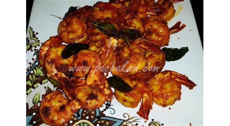 Spicy Shrimp Fry